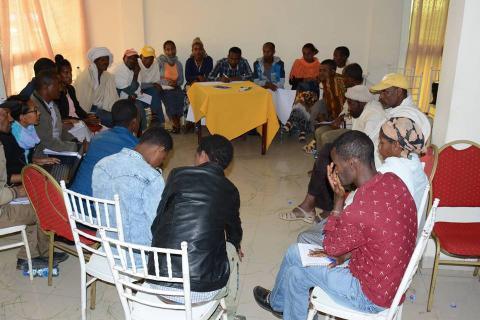 PRA Woreda Validation Workshop,  (Simada, Tach Gaynt and Lay Gaynt Woredas), South Gondar Zone Cluster